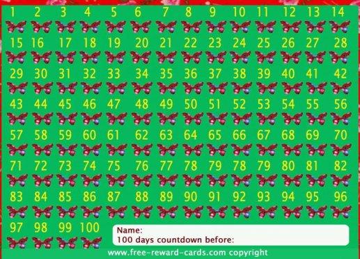 free countdown calendars
