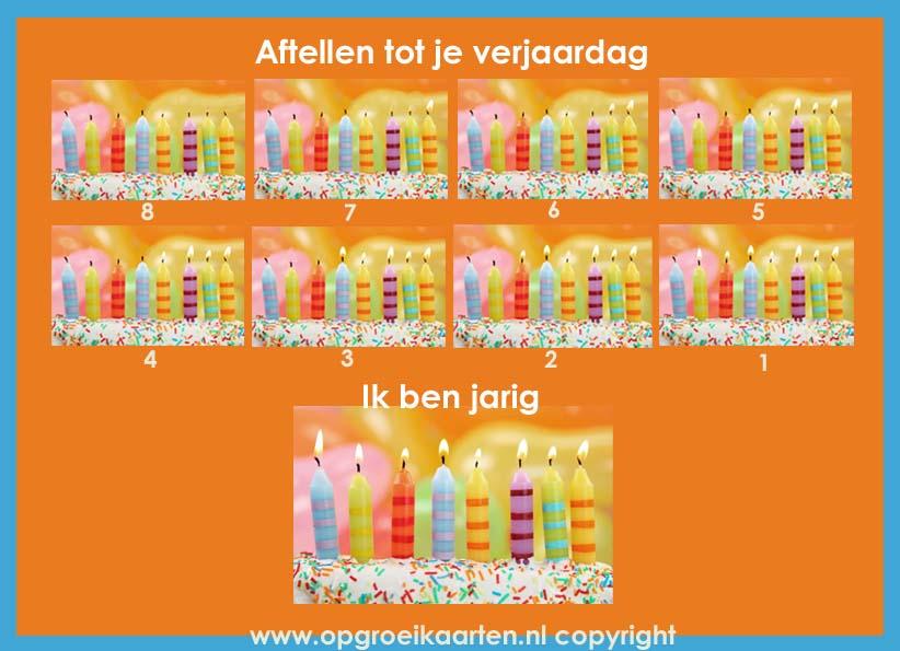 Aftelkalender Verjaardag Kind 2 Gratisbeloningskaart Nl