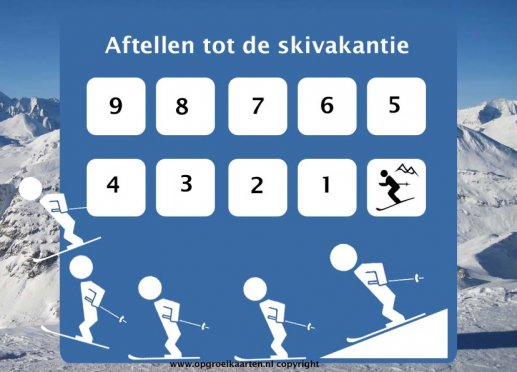 aftelkalender wintersport