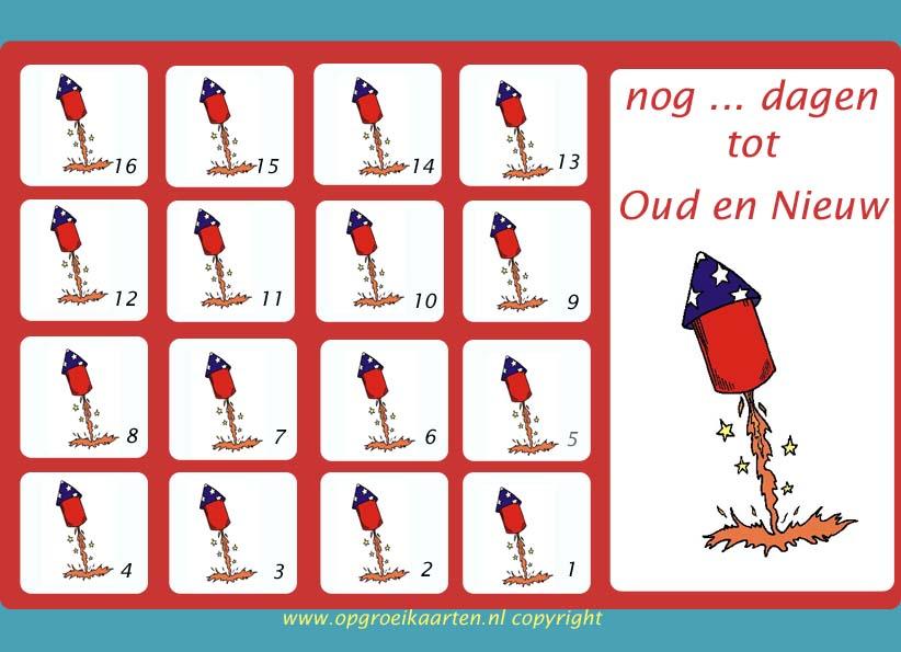 Zeer Aftelkalender suikerfeest 30 dagen - gratisbeloningskaart.nl &JI28