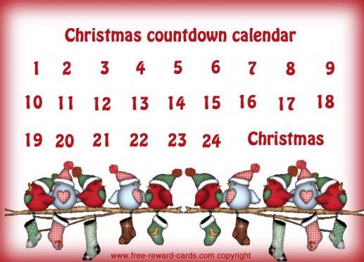 christmas countdown calendar 5 countdown calendar christmas all these ...