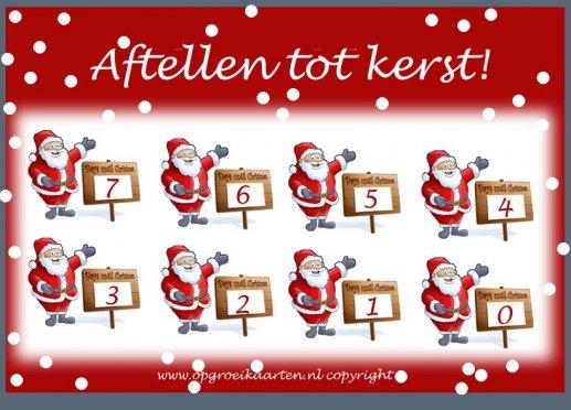 Beroemd Gratis aftelkalenders - gratisbeloningskaart.nl RH58
